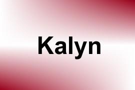 Kalyn name image