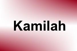 Kamilah name image