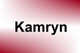 Kamryn name image