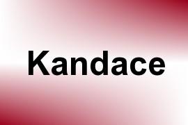 Kandace name image