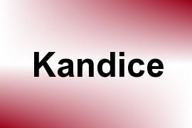 Kandice name image