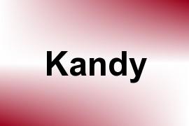 Kandy name image