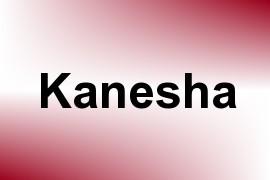 Kanesha name image