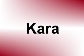 Kara name image