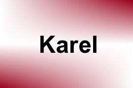 Karel name image
