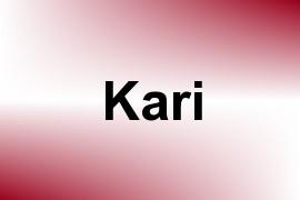 Kari name image