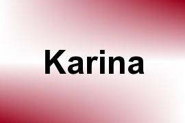 Karina name image