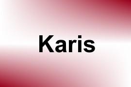 Karis name image