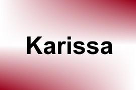 Karissa name image