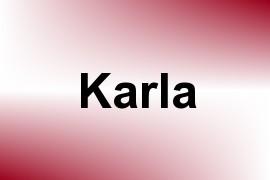 Karla name image