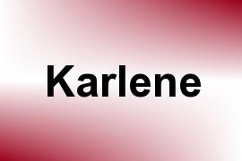 Karlene name image