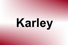 Karley name image