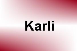 Karli name image