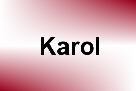 Karol name image