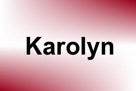 Karolyn name image