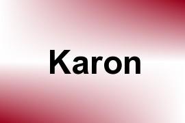 Karon name image