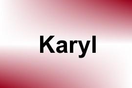 Karyl name image