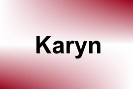 Karyn name image