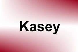 Kasey name image