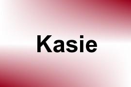 Kasie name image