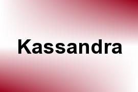 Kassandra name image