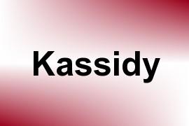 Kassidy name image