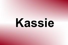 Kassie name image