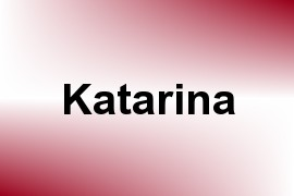 Katarina name image