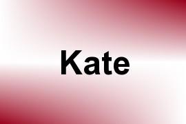 Kate name image