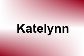Katelynn name image