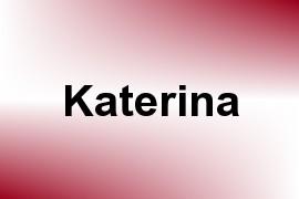 Katerina name image