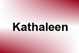 Kathaleen name image