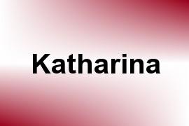 Katharina name image