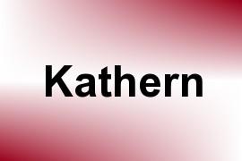 Kathern name image