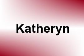 Katheryn name image