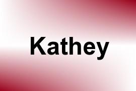 Kathey name image