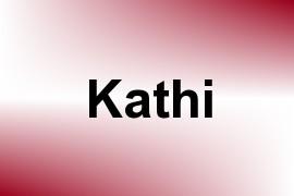 Kathi name image