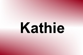 Kathie name image