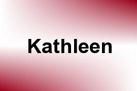 Kathleen name image