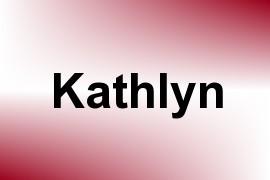 Kathlyn name image