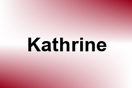 Kathrine name image