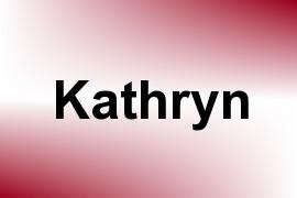 Kathryn name image