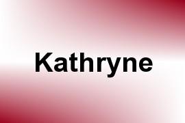 Kathryne name image