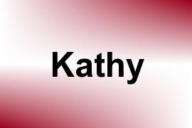 Kathy name image