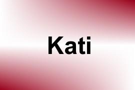 Kati name image