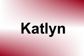 Katlyn name image