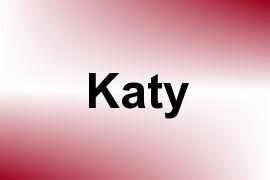 Katy name image