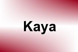 Kaya name image