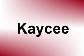 Kaycee name image