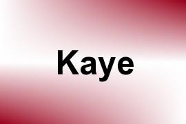 Kaye name image